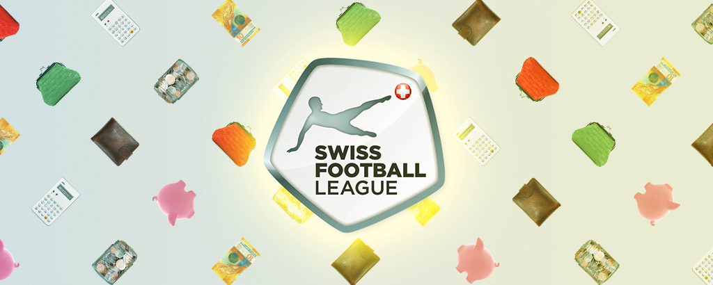 Mosaico con il logo della Swiss Football League